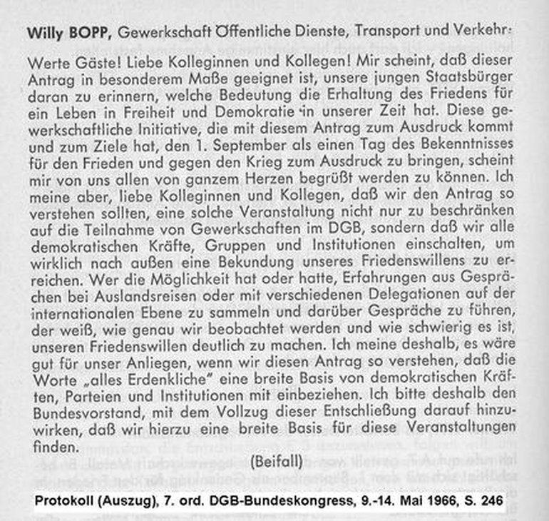 Auszug Manuskript Willy Bopp