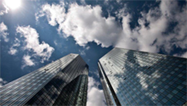 Die Twintowers der Deutschen Bank, zu der auch die DB Direkt GmbH gehört
