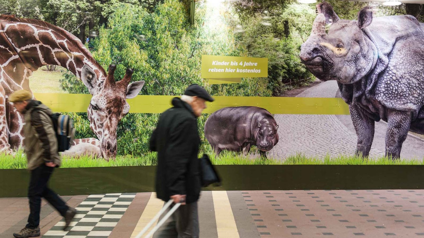 Verdi Berliner Zoobeschäftigte Erstreiken Bessere Bezahlung