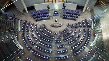 Der Bundestag – noch ohne seine Mitglieder