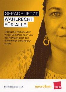 Wahlrecht für alle – die ver.di-Aktion zum Mitmachen