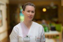 Katja Gerhart, 30, Krankenschwester in der Geriatrie der SHG-Kliniken Sonnenberg, Saarbrücken