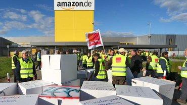 Bis die Würfel gefallen sind – Streik am Amazon-Standort Graben