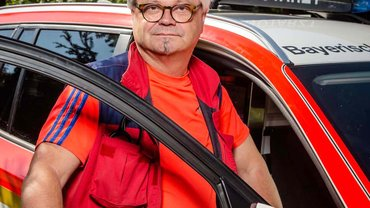 Martin Lücke, Gesamtbetriebsratsvorsitzender und Betriebsratsvorsitzender des Klinikums Coburg