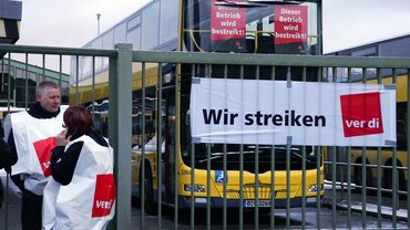 Streik Veranstaltung