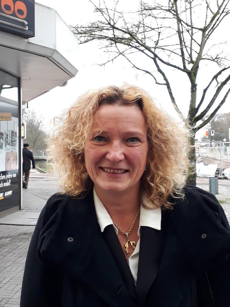 Kathy Preuß, Betriebsratsvorsitzende bei der Bliestalverkehr GbR