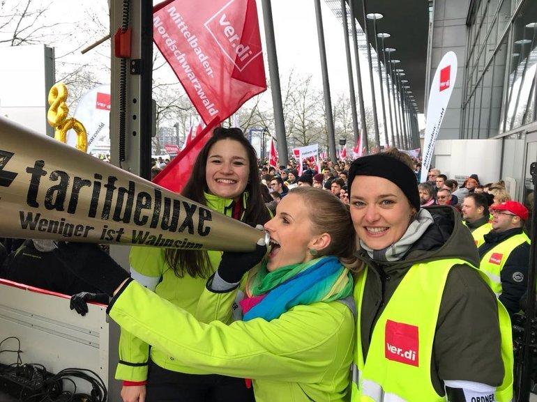 Die EnBW Jugend streikt für den Tarifdeluxe