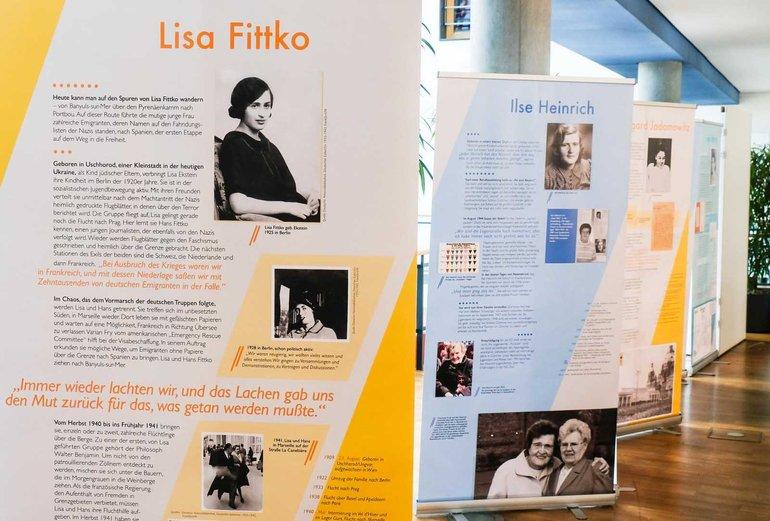 Lisa Fittko führte nach ihrer Flucht nach Südfrankreich zahlreiche Emigrant/innen durch die Pyrenäen nach Spanien