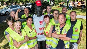 Sie streikten 51 Tage für ihren Erfolg – die Beschäftigten der Vivantes Service Gesellschaft