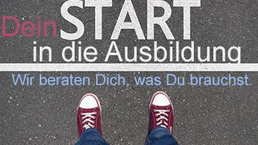 Start in die Ausbildung