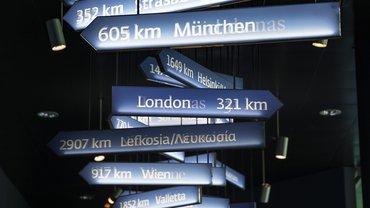 Viele Wege führen nach Europa