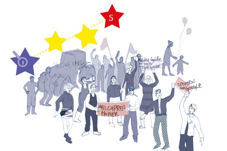 Das große Europa-Quiz – viele Fragen, nur eine Antwort ist richtig
