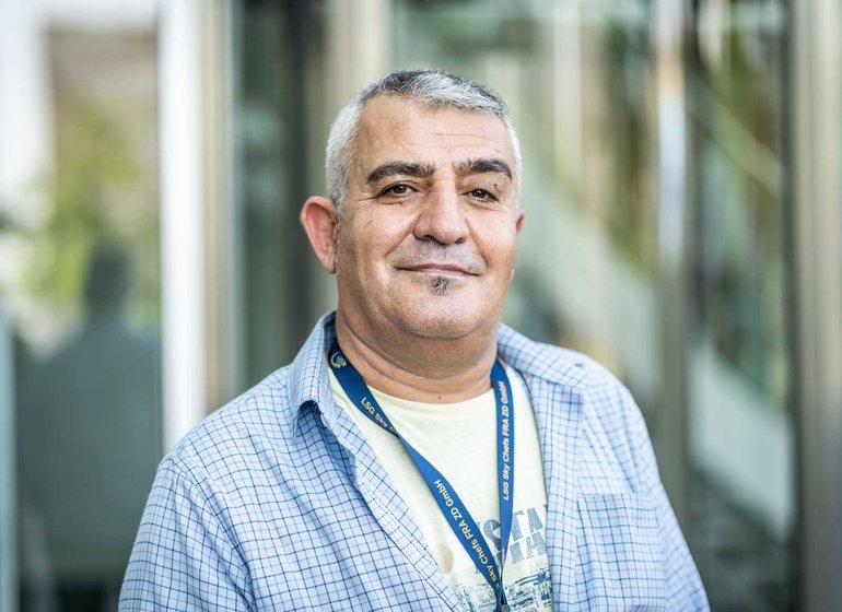 Mehmet Örser (53) ist seit 1992 im Betriebsrat der LSG
