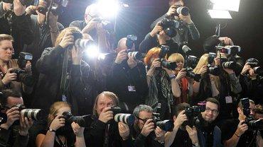 Freiberufliche Fotografen suchen ihr Motiv