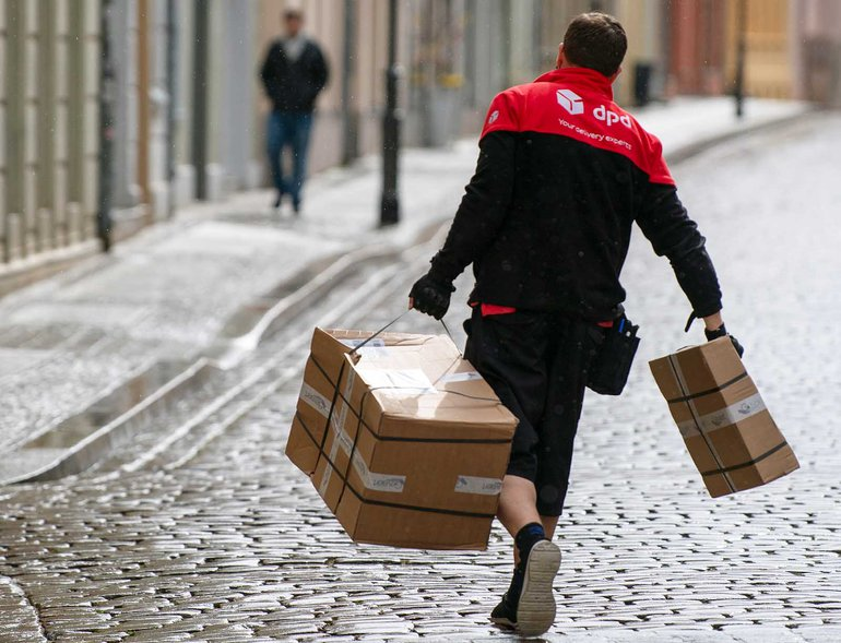 Das starke Wachstum in der Paketbranche darf nicht über prekäre Arbeitsbedingungen stattfinden