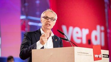 EGöD-Generalsekretär Jan Willem Goudriaan findet ver.di immer wieder inspirierend