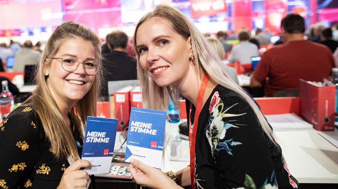 Jede Stimme zählt – auf dem 5. ver.di-Bundeskongress 2019