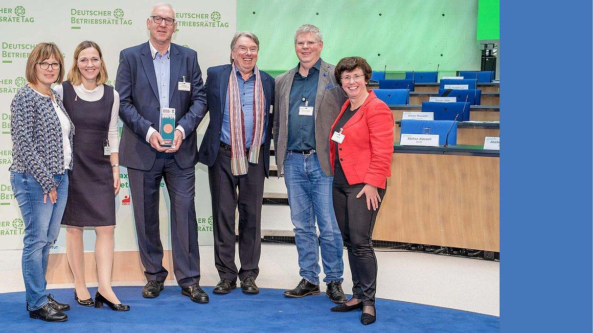 Bronzepreis für den Konzernbetriebsrat der LVV