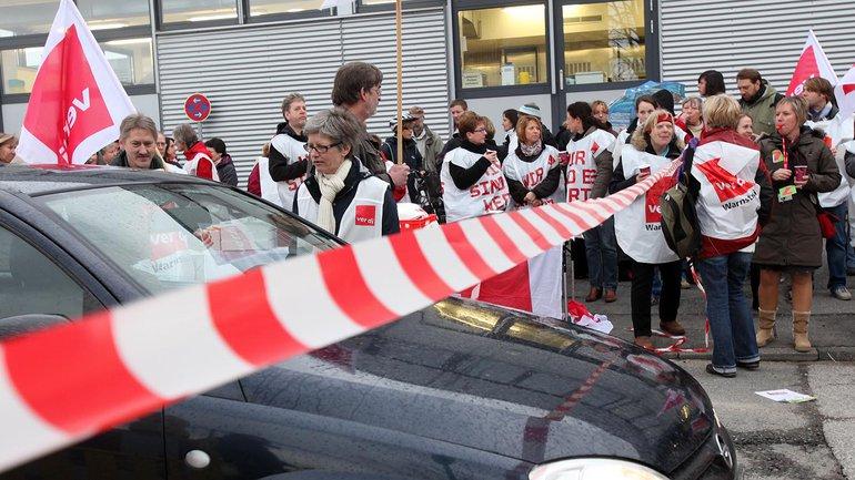 Die Beschäftigten haben für die Tarifeinigung mit dem Universitätsklinikum Schleswig-Holstein erfolgreich gestreikt