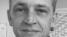 Tim Schreyer, 40, arbeitet am Wareneingang im Edeka-Lager Marktredwitz
