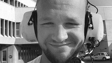 Bastian Ruchotzke, 25 Jahre, Servicekaufmann für Luftverkehr beim Bodenverkehrsdienstleister Aviation Handling Service (AHS) Köln