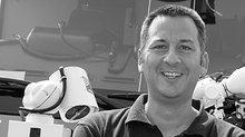 Matthias Pöschko (46) arbeitet seit 23 Jahren bei der Frankfurter Flughafenfeuerwehr
