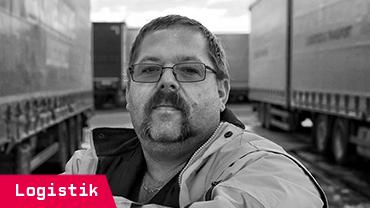 Sven Fritzsche, 49, arbeitet als Berufskraftfahrer bei einer Spedition in Zwickau