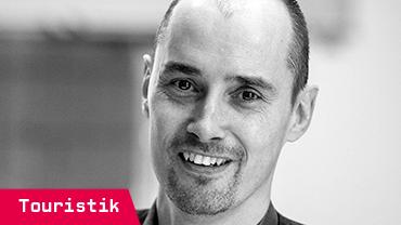 Holger Schmidt, 51, arbeitet im Datenmanagement des Reiseveranstalters DER Touristik Deutschland GmbH