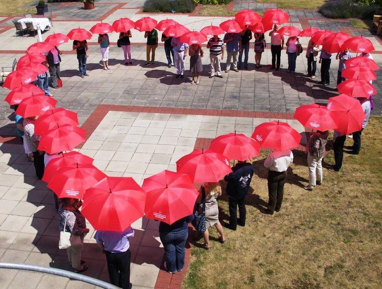Schirm zu, Schirm auf Nr.11