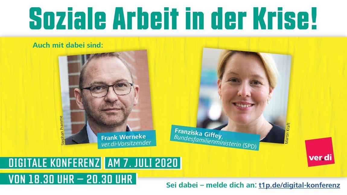 Digitale Konferenz in den Sozial- und Erziehungsdiensten, 7. Juli 2020