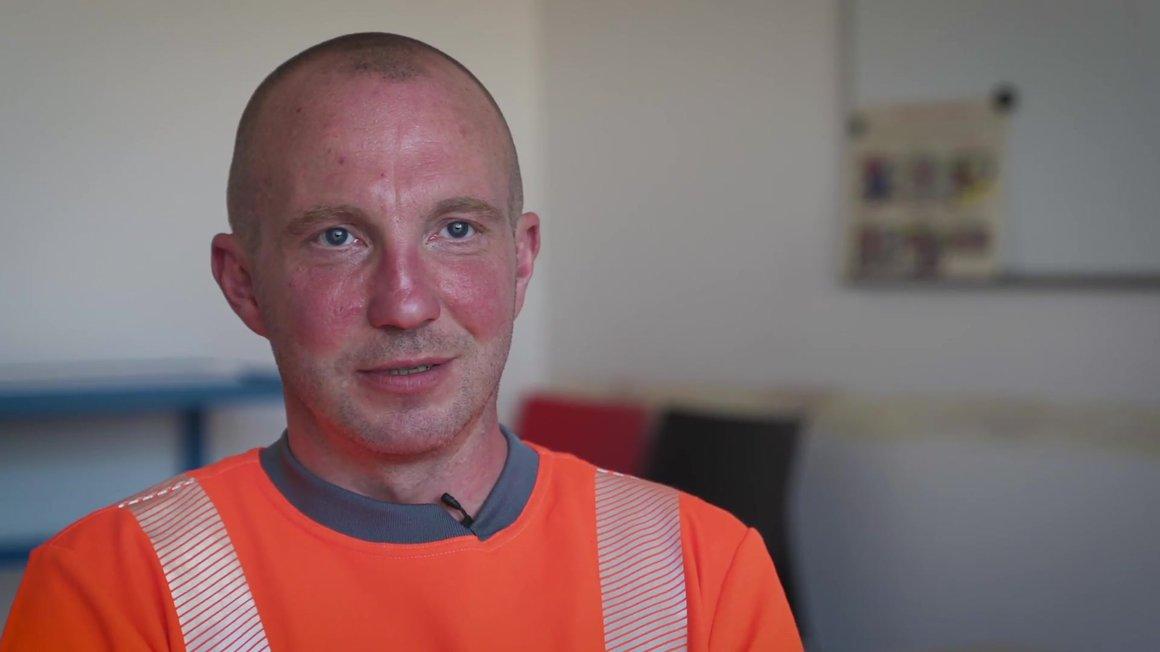 Lars Eimer, Straßenreiniger