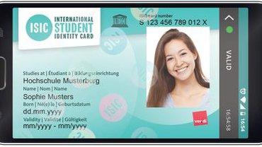 Studierendenausweis ISIC