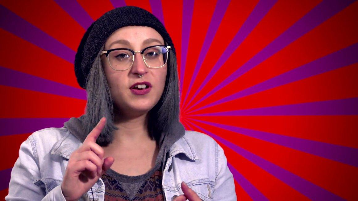 Miriam von der ver.di Jugend erklärt, was es mit den rechten Frauen auf sich hat