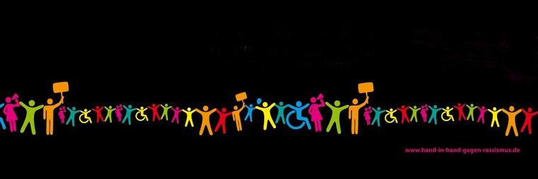 Aktion Menschenkette am 18. und 19. Juni 2016