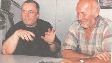 Werner David und Bernd Prawalsky