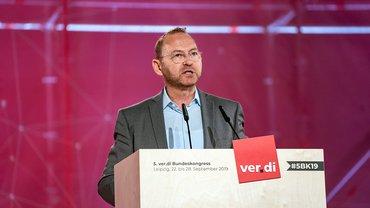 Frank Werneke startet mit Grundsatzrede