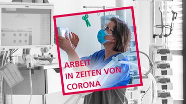 Krankenschwester Cornelia Möller prüft ein Beatmungsgeräte in einem Zimmer der Intensivstation in der Helios-Klinik. Auf den Isolierstationen tragen die Ärzte, Schwestern und Mitarbeiter Schutzanzüge, Brillen und Mundschutz. Das Helios Klinikum bereitet sich auf einen Anstieg bei Corona-Fälle vor