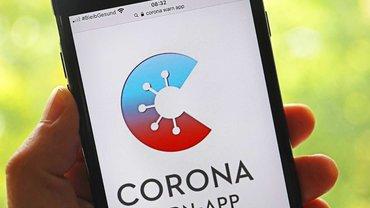 So sieht sie aus, die Corona-Warn-App, wenn sie gestartet wird