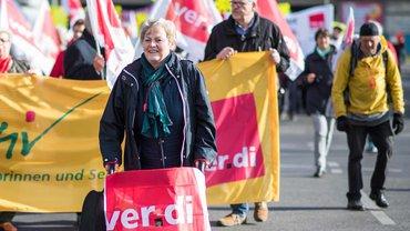 Für ein Leben in Würde – die ver.di-Senior*innen unterstützen den Vorschlag einer Grundrente ohne Bedürftigkeitsprüfung