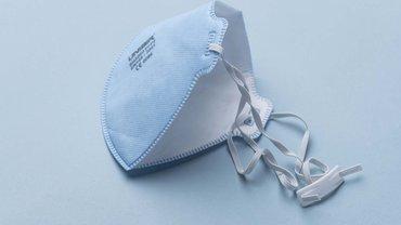 Eine Atemschutzmaske der Kategorie FFP-2